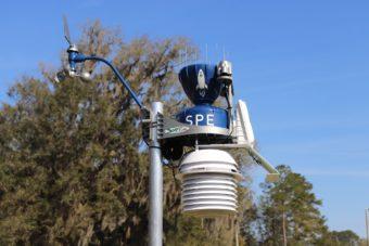 WeatherSTEM weather station
