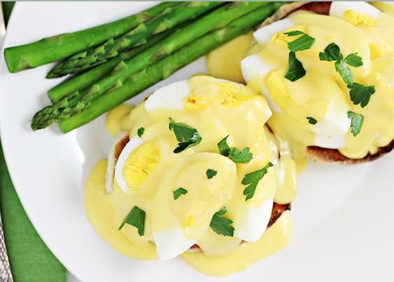Recipe: Hard-boiled Eggs Benedict