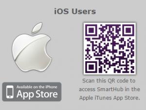 iOS users QR code