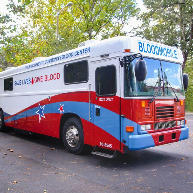 blood drive van