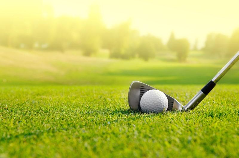 golf club on field