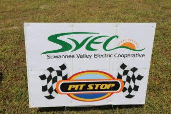 SVEC Pit Stop sign