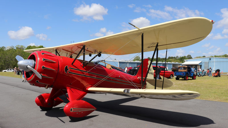 small red plane