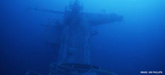 ship at bottom of ocean