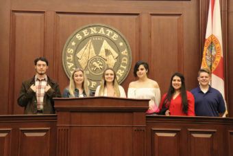 students in senate